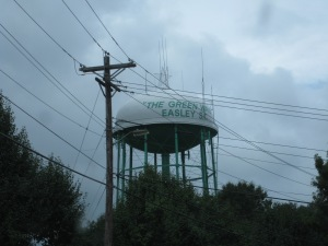 Elevated storage tank in Easley, SC