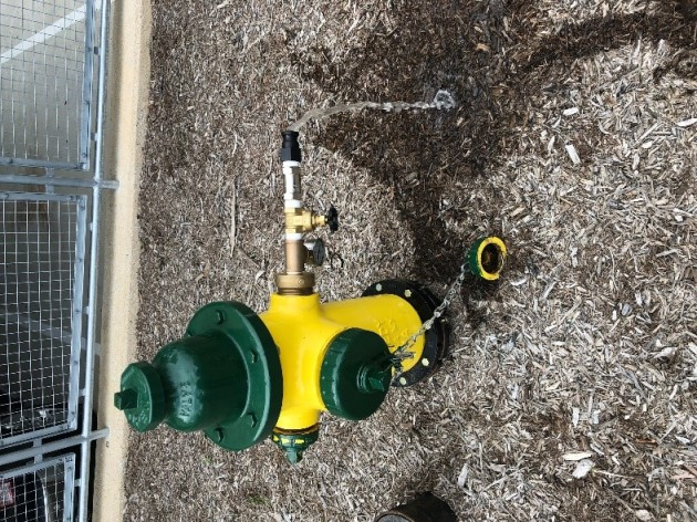 Redesigned Hydrant Sampler